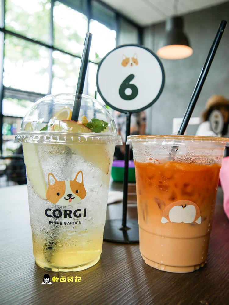 泰國曼谷景點推薦》Corgi in the Garden●泰國曼谷柯基咖啡廳 15隻療癒柯基環繞! 曼谷最萌咖啡廳 曼谷柯基咖啡廳