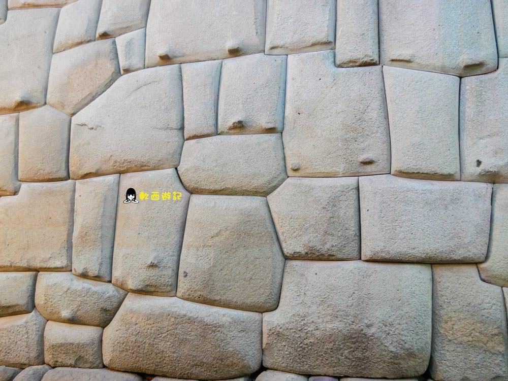 秘魯庫斯科景點推薦》武器廣場 十二角石●聯合國教科文組織世界遺產 庫斯科武器廣場 完美切割精湛工藝十二角石 秘魯自助/秘魯自由行