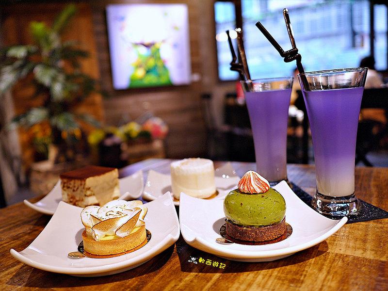 [食記]台北中山國中站 WellMore Pâtisserie維摩法式甜點 台北松山甜點 隱身巷弄中工業風甜點店 精緻法式手工甜點