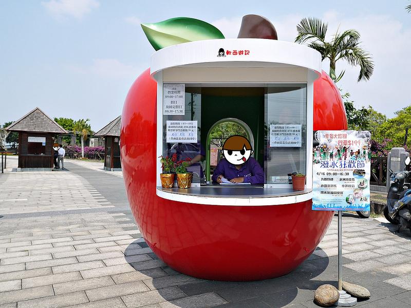 [遊記]屏東大路觀主題樂園&樂園酒店Dalukuan x Royal Elastics Hello Kitty聯名鞋款!!! 巨棒仙人掌/大觀河漂漂河划船