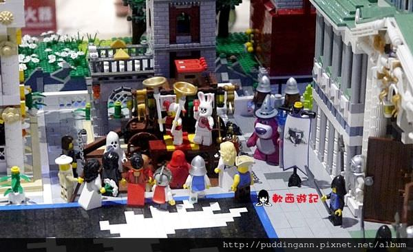 [展覽]台北南港Citylink 樂高積木展 免費大型展覽 小小兵/海棉寶寶/星海爭霸~快來走入積木樂園吧