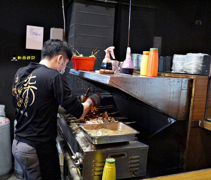 [食記]新北輔大站 柒串燒屋(輔大店) 銅板價串燒! 食尚玩家推薦美食 不限時 學生族最愛平價串燒