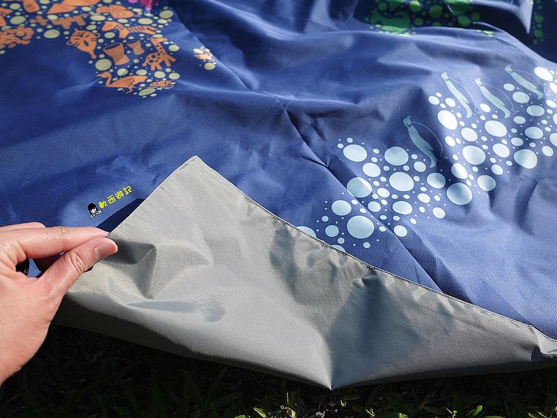 [愛體驗]Nuhox怒吼獅台灣製野餐墊 X TLC野餐日 MIT Made in Taiwan 方塊墊x厚片墊 戶外野餐好幫手! 防水/好收納/好清洗/方便攜帶/輕巧可背 野餐墊/地墊/遊戲墊 帶著怒吼獅一起去野餐吧~
