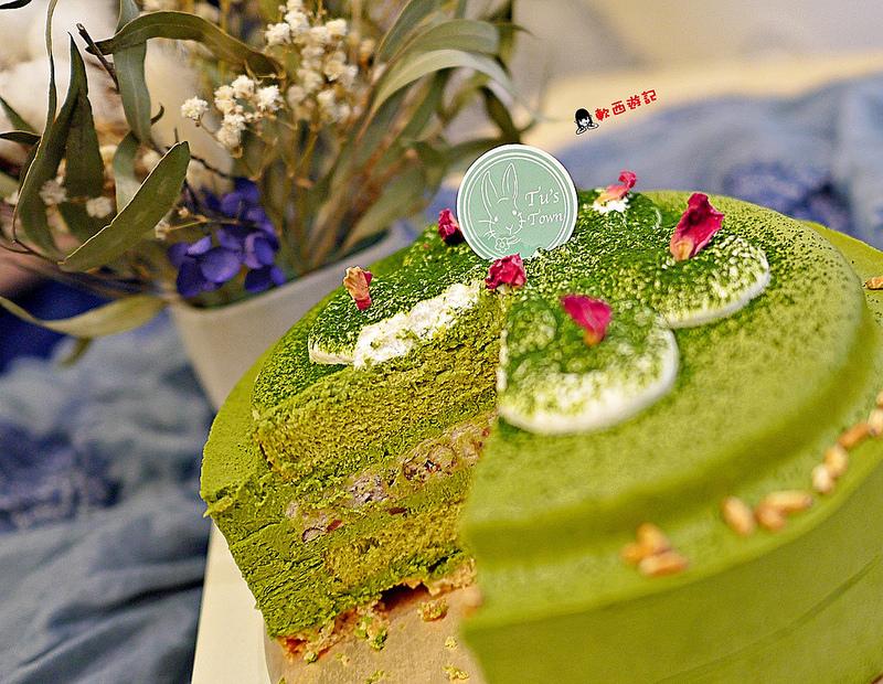 [宅配]高雄 兔思糖法式甜點 超濃丸久小山園抹茶蛋糕 清甜爽口達克瓦茲 高雄宅配甜點/高雄宅配美食