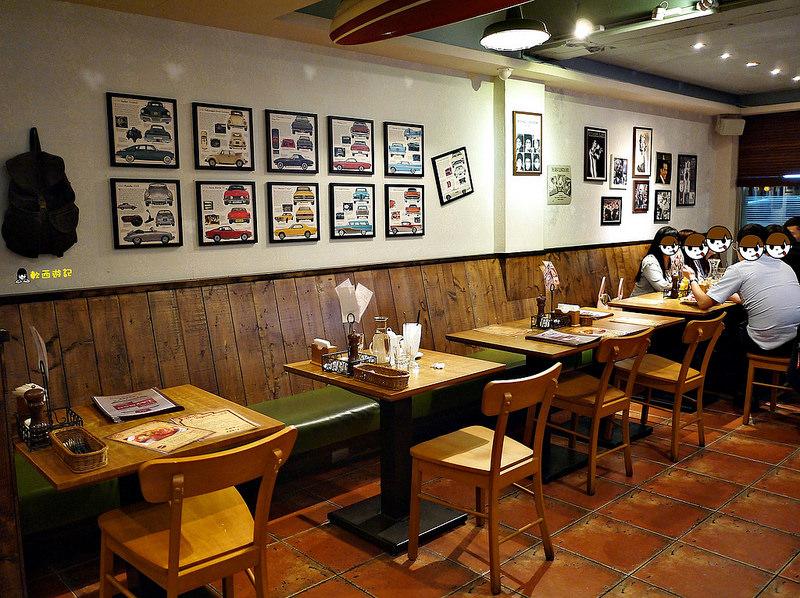 [食記]台北行天宮站 雷蒙叔叔,專業門外漢的廚房 英雄風美式餐廳 疊高高洋蔥塔!!! *有WIFI 可訂位 附完整菜單*