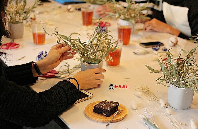 [食記]新北板橋站 日光公寓 尖叫吧!超美麗乾燥花夢幻店家 小班制精緻花藝課程 花藝課程首選 姊妹暖男手作花藝