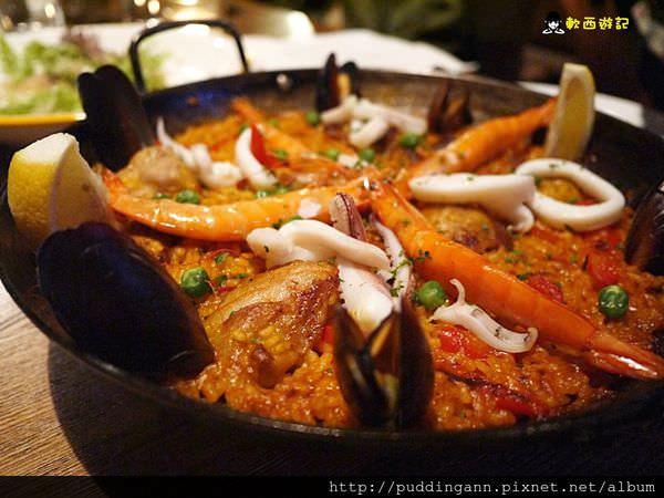 台北國父紀念館 La MESA 西班牙餐廳 道地異國料理 來一杯Sangaria徜徉在美食的浪海中吧~